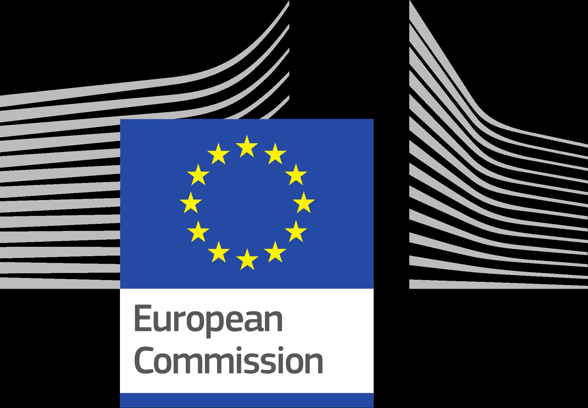 Logo Comisión Europea Inglés